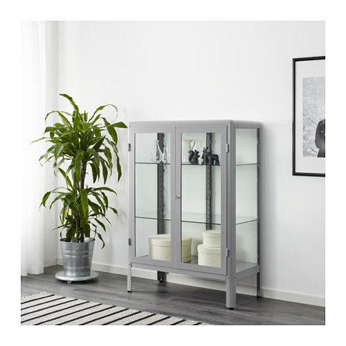 Withdraw Fabrikr Glass Door Cabinet Grey Boxster Ltd